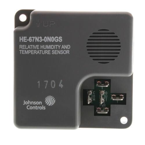 Wall Mount Temperature Sensor : He n gs johnson controls wall