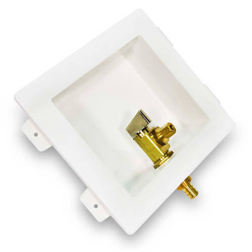 "Ice Maker Box, 1/2"" PEX Valve (Lead Free)"