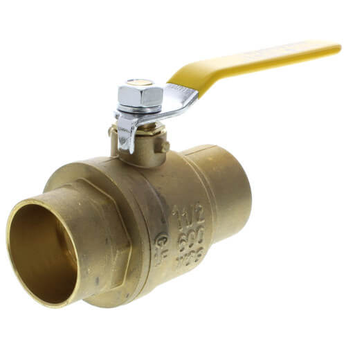 "3/4"" Full Port Sweat Ball Valve, Lead Free"
