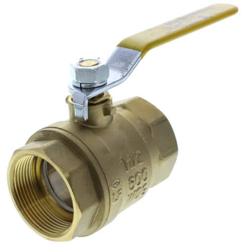 "2"" Full Port Threaded Ball Valve, Lead Free"