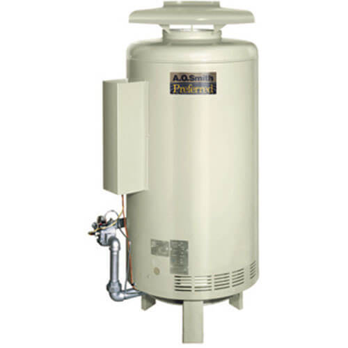 Burkay 416,000 BTU Output Electronic Ignition Hot Water Boiler (LP Gas)