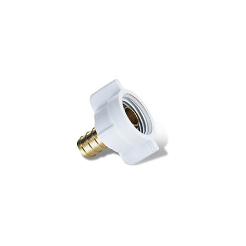 "Plastic Faucet Swivel Adapter, 1/2"" PEX x 1/2"" NPSM"