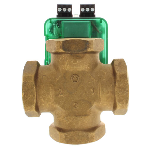 "1"", 4 Way Outdoor Reset I-Series Mixing Valve, Threaded Product Image"