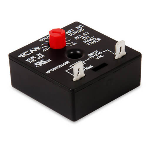 ICM105 Delay on Make Timer (.03-10 Minute Adjustable Delay) Product Image