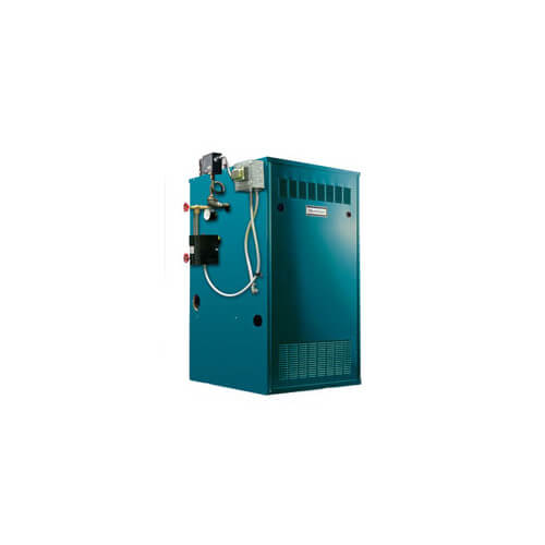 CGS-A 86,000 BTU Output, Spark Ignition Cast Iron Steam Boiler (Nat Gas)