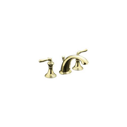 K 394 4 Pb Kohler K 394 4 Pb Devonshire Widespread Lavatory Faucet Vibrant Polished Brass