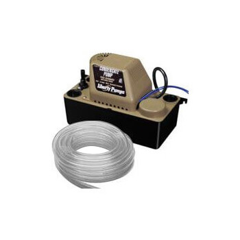 1/30 HP Automatic Condensate Removal Pump w/ Safety Switch and Tubing - 115v - 6 ft Cord