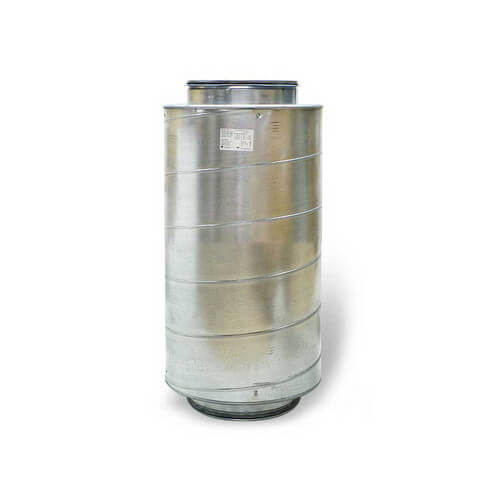 "Galvanized Steel Silencer for 6"" Duct"