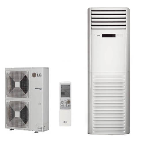 42,000 BTU Ductless Single Zone Mini Split Floor Standing Heat Pump U0026 Air  Conditioner