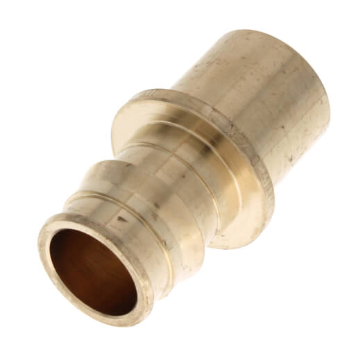 "1/2"" ProPEX x 1/2"" Copper Fitting Adapter (Lead Free Brass)"