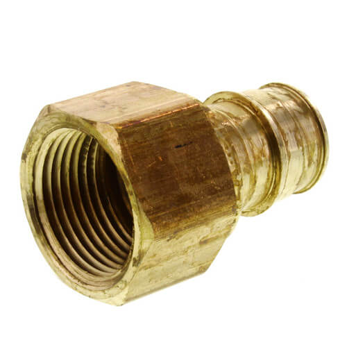 "1-1/2"" ProPEX x 1-1/2"" NPT Lead Free Brass Female Adapter Product Image"
