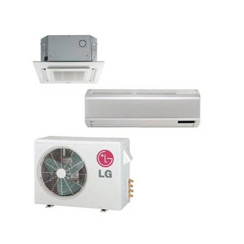 2 Zone Cool-Heat Multi-Split Package - 18,000 BTU