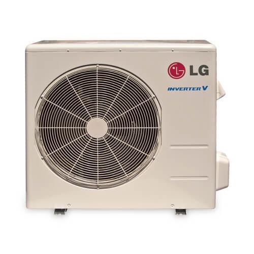 luu187hv lg luu187hv 18 000 btu ductless single zone inverter heat pump air conditioner. Black Bedroom Furniture Sets. Home Design Ideas
