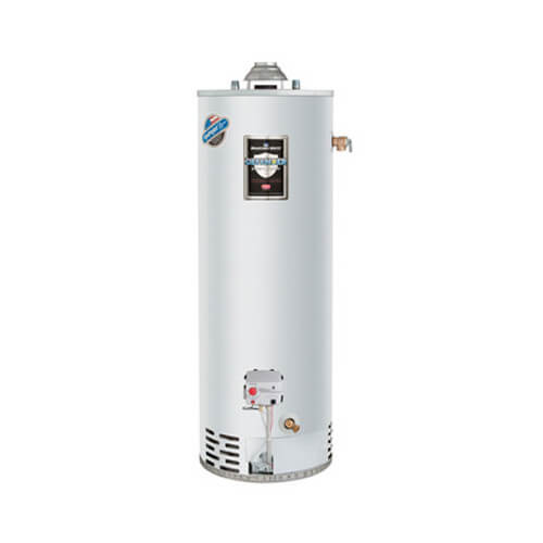 40 Gallon - 48,000 BTU Defender Safety System Atmospheric Vent Energy Saver Residential Water Heater (LP Gas)