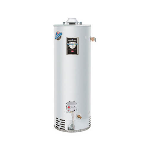 40 Gallon - 40,000 BTU Defender Safety System Extra Recovery Energy Saver Residential Water Heater (Nat Gas)