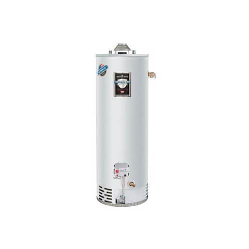 40 Gallon - 40,000 BTU Defender Safety System High EF Residential Water Heater (Nat Gas) - T&P Valve On Top