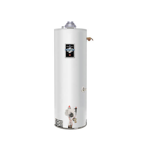 30 Gallon - 32,000 BTU Manufactured Home Defender Safety System Atmospheric Vent Energy Saver Residential Water Heater (Nat Gas)