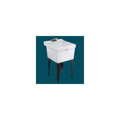 Wall Mount Utility Tub : Durastone Utilatub Laundry/Utility Tub - Wall Mount Product Image