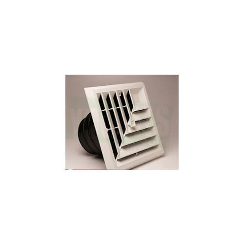 "14"" x 8"" White Return Air Grille (650 Series)"