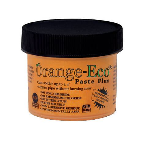 Orange-Eco Paste Flux (16 Oz.)