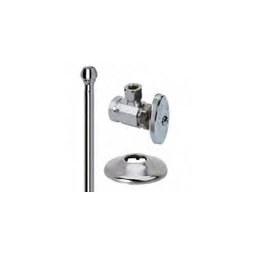 Or1512ax C Brasscraft Or1512ax C 3 8 Fip X 3 8 Od Compression Faucet Supply Kit Angle