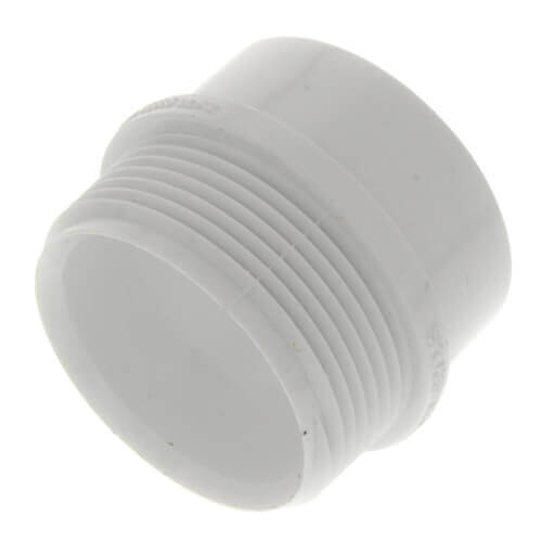 "1-1/2"" PVC DWV Male Trap Adapter (Spigot x Slip) Product Image"