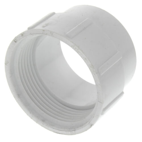 """1-1/2"""" PVC DWV Fitting Cleanout Adapter Product Image"""