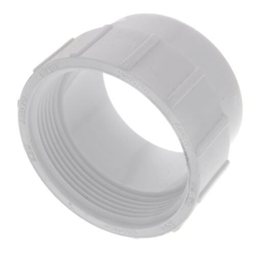 """2"""" PVC DWV Fitting Cleanout Adapter Product Image"""