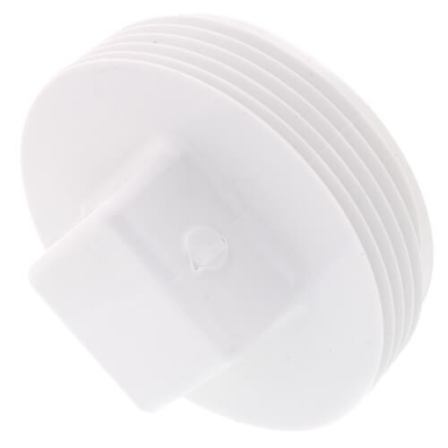"""2-1/2"""" PVC DWV Cleanout Plug Product Image"""