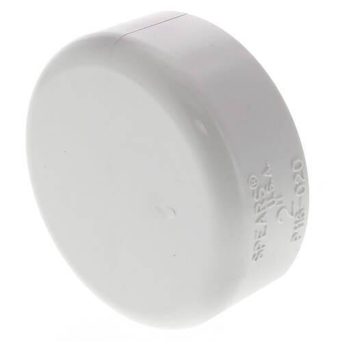 "2"" PVC DWV Cap Product Image"