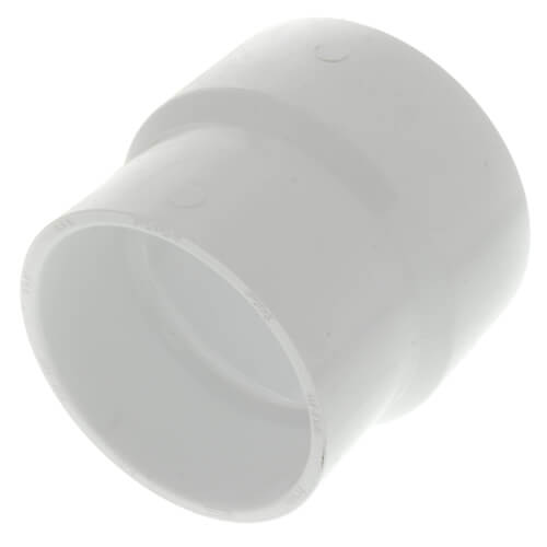 """4"""" x 3"""" PVC DWV Adapter Coupling Product Image"""
