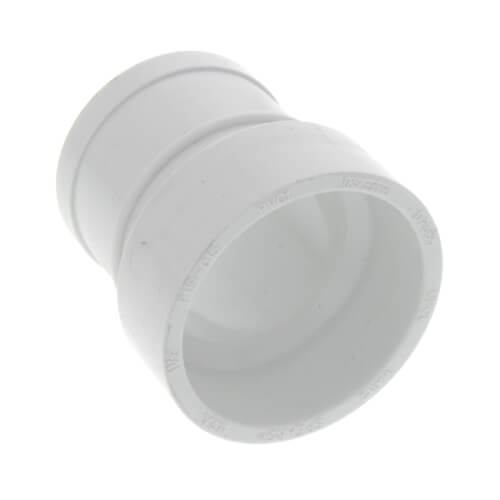 "2"" x 1-1/2"" PVC DWV No-Hub Adapter"