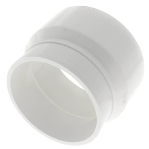"4"" PVC DWV No-Hub Adapter Product Image"