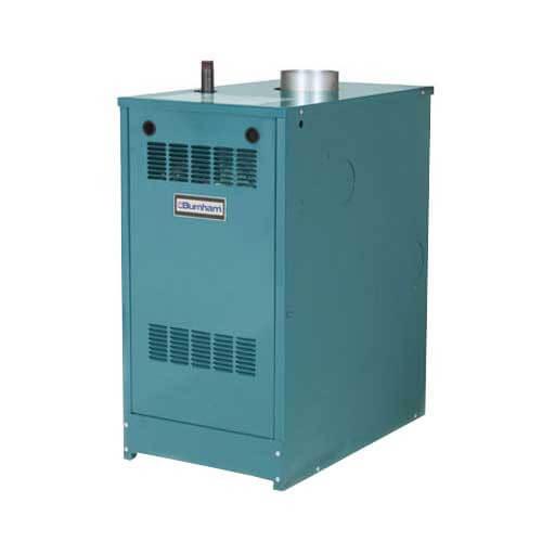 P203 45,000 BTU Output, Standing Pilot Cast Iron Boiler (Nat Gas)