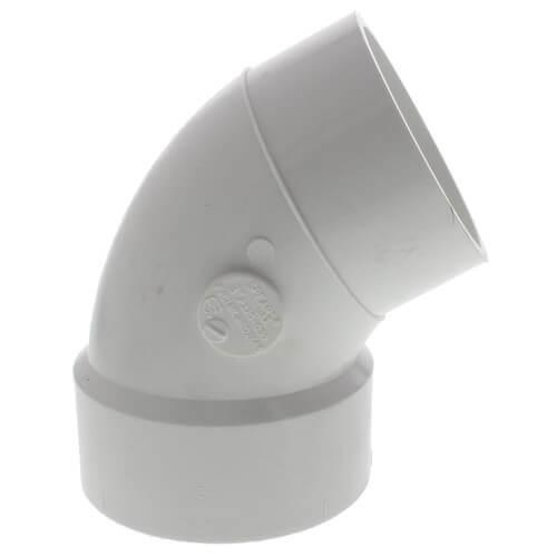 "4"" PVC DWV 60° Street Elbow Product Image"