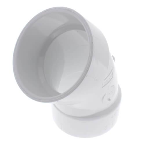 "3"" PVC DWV 45° Elbow Product Image"