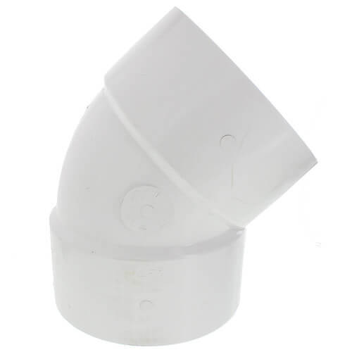 "8"" PVC DWV 45° Elbow Product Image"