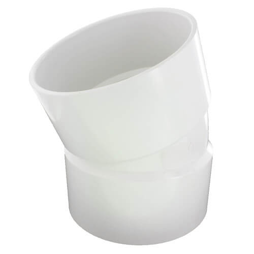 "6"" x 6"" x 4"" PVC DWV Sanitary Tee"