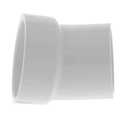 "10"" PVC DWV 22.5° Street Elbow Product Image"