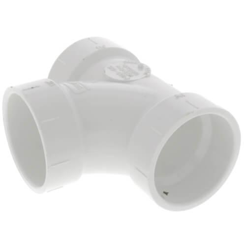 "10"" PVC DWV Sanitary Tee"