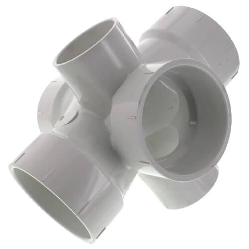 """1-1/2"""" PVC DWV 90° Elbow"""