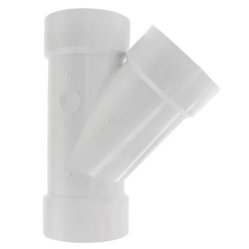 """4"""" PVC DWV 45° Elbow"""