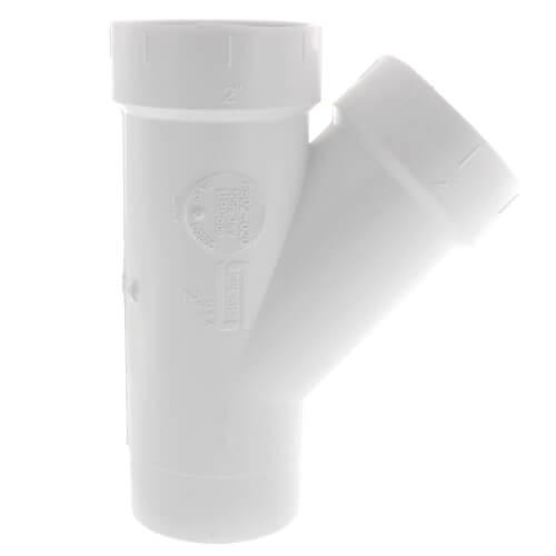 "2"" PVC DWV Street Wye Product Image"