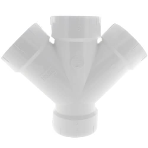 """3"""" PVC DWV Double Wye Product Image"""