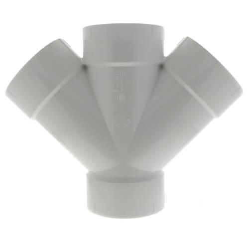 "6"" PVC DWV Long Turn 90° Elbow"