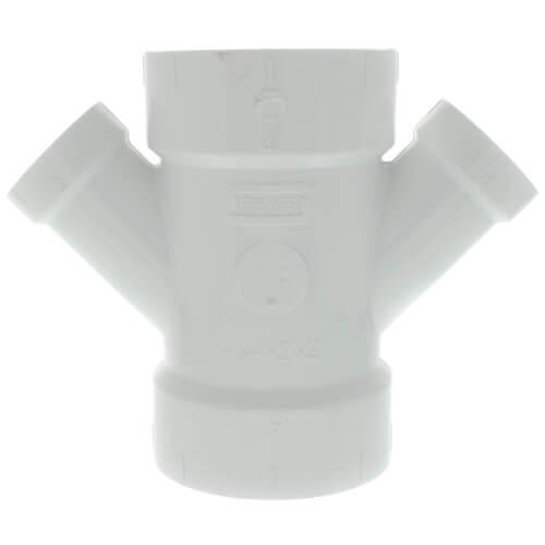 "4"" PVC DWV Long Turn 90° Elbow"
