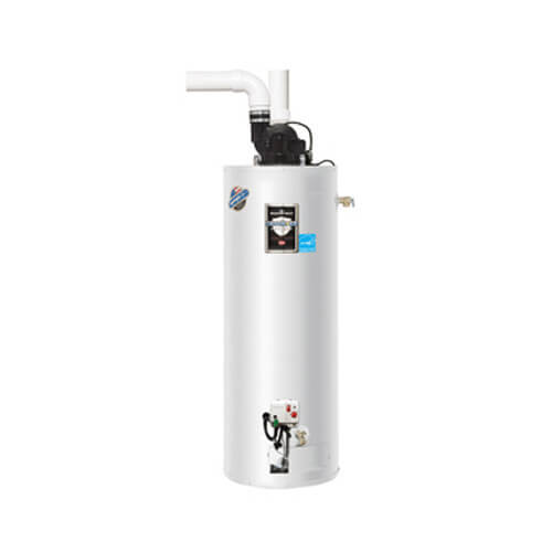 40 Gallon - 38,000 BTU Defender Safety System PDX1 Power Direct Vent Energy Saver Residential Water Heater (LP Gas)