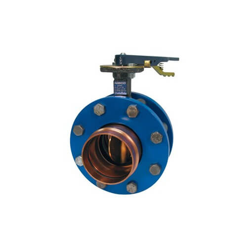Lever Butterfly Valve : Pfd nibco  quot press ductile iron