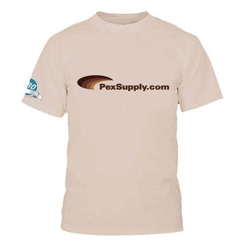 Tan PexSupply Pro T-Shirt - Size Large