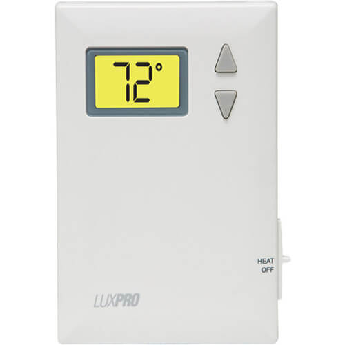 LuxPro Digital 2 Wire Heat Only Thermostat Product Image